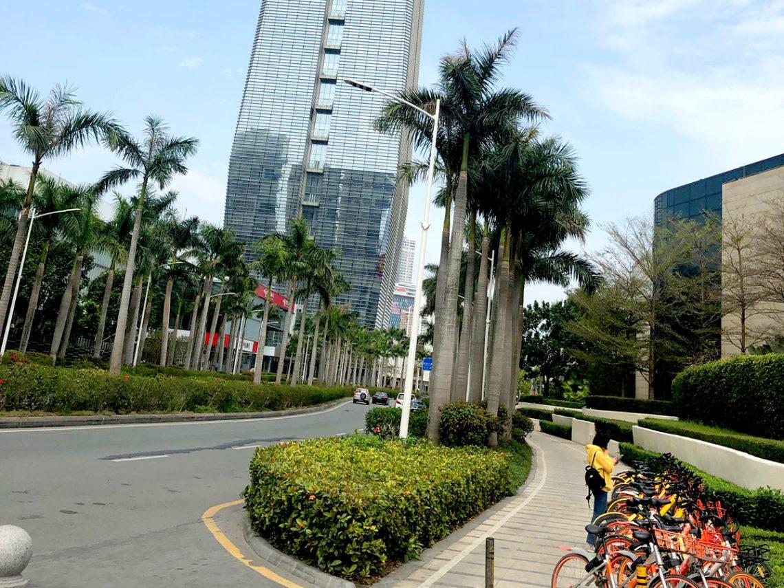Shenzhen – moderne Hochhäuser, viel Glas … das erinnert ans Silicon Valley