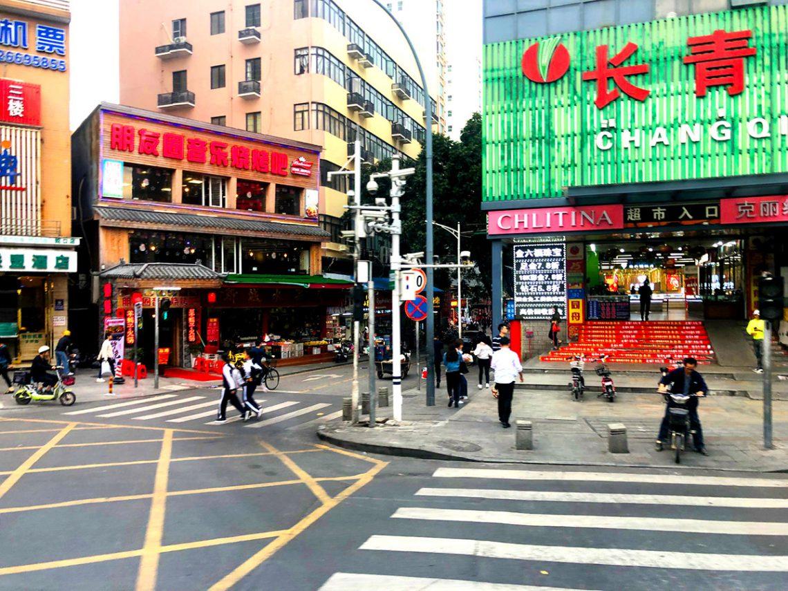 Shenzhen – aber es gibt natürlich auch die traditionellen Stadtteile