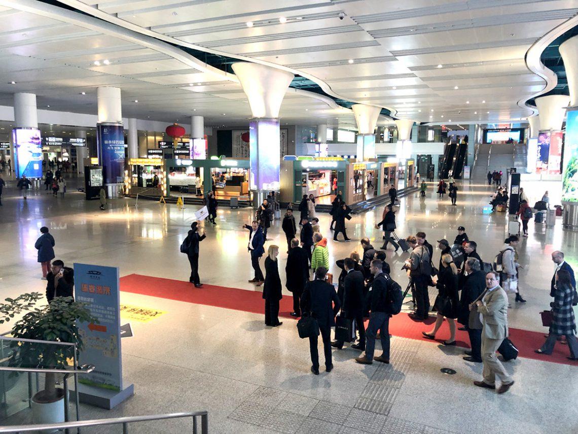 Ein Bahnhof der Moderne… Hangzhou East Station