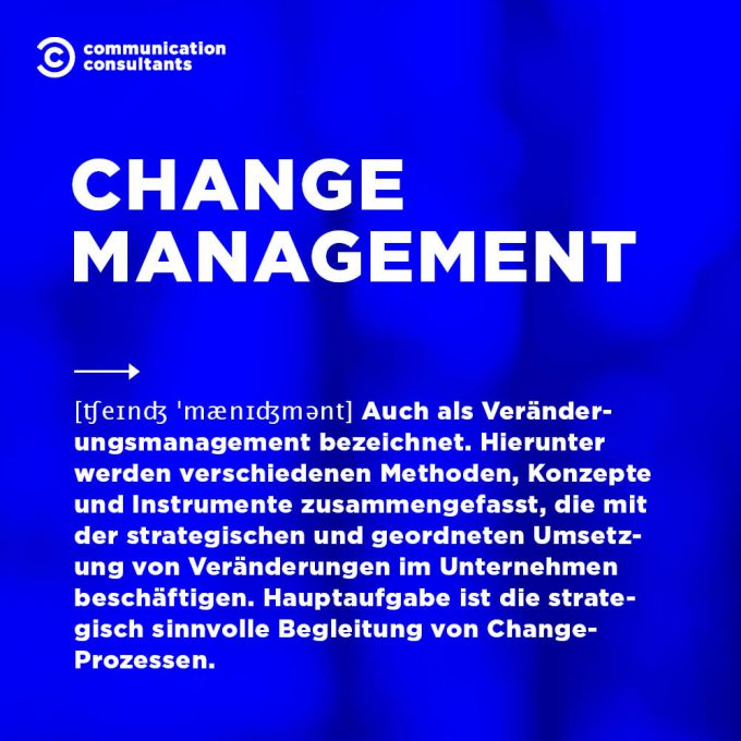 Buzzword Change Management