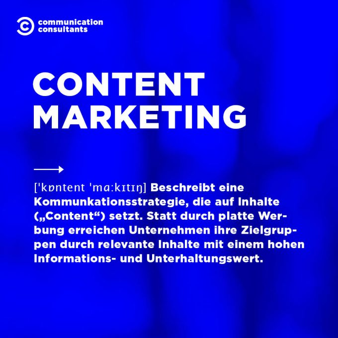 Buzzword Content Marketing