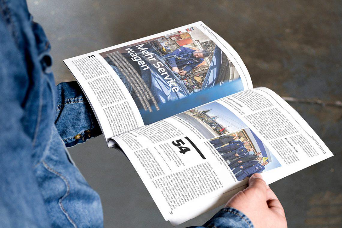 Werkstattreportage im Fachmagazin blinklicht