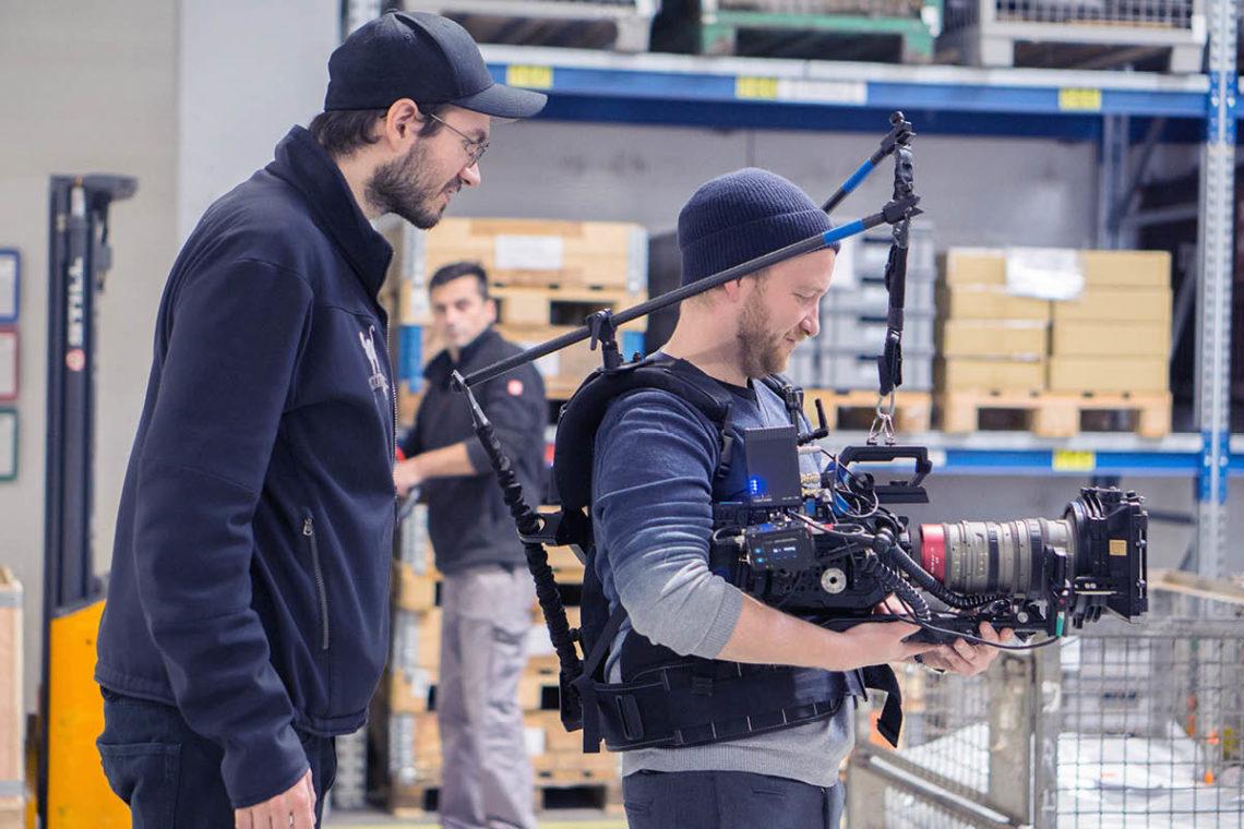 HR-Film: Thor und unser Kameramann sind ein eingespieltes Team.