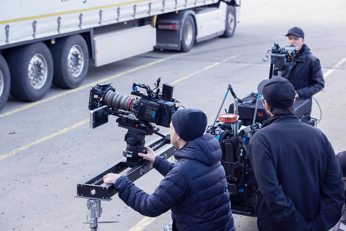 HR-Film: Voller Einsatz beim Filmteam!