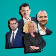 Die Digitalisierung stellt Unternehmen vor Herausforderungen Tobais Wachtmann, Dr. Albert Dürr, Andrea Krämer und Florian Hermle geben Einblicke in die eigenen Veränderungsprozesse