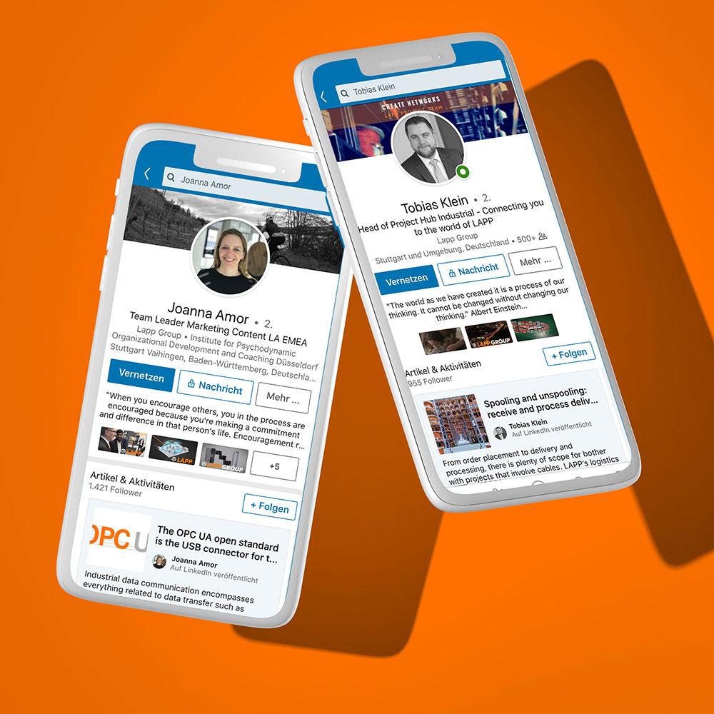 Social Media für LAPP