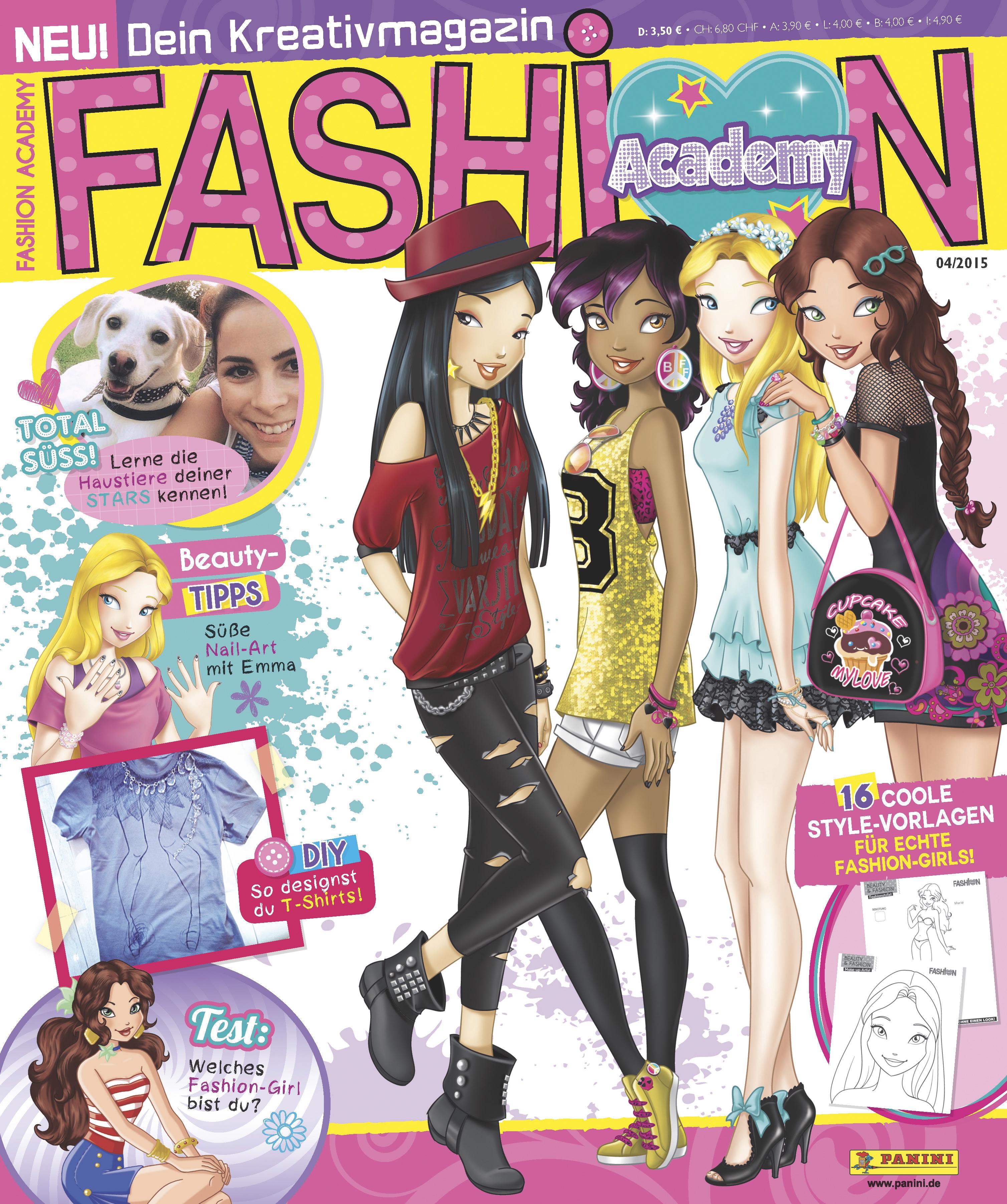 Panini Betritt Die B Hne Mit Fashion Academy Dein Kreativmagazin Cc Presseportal Das