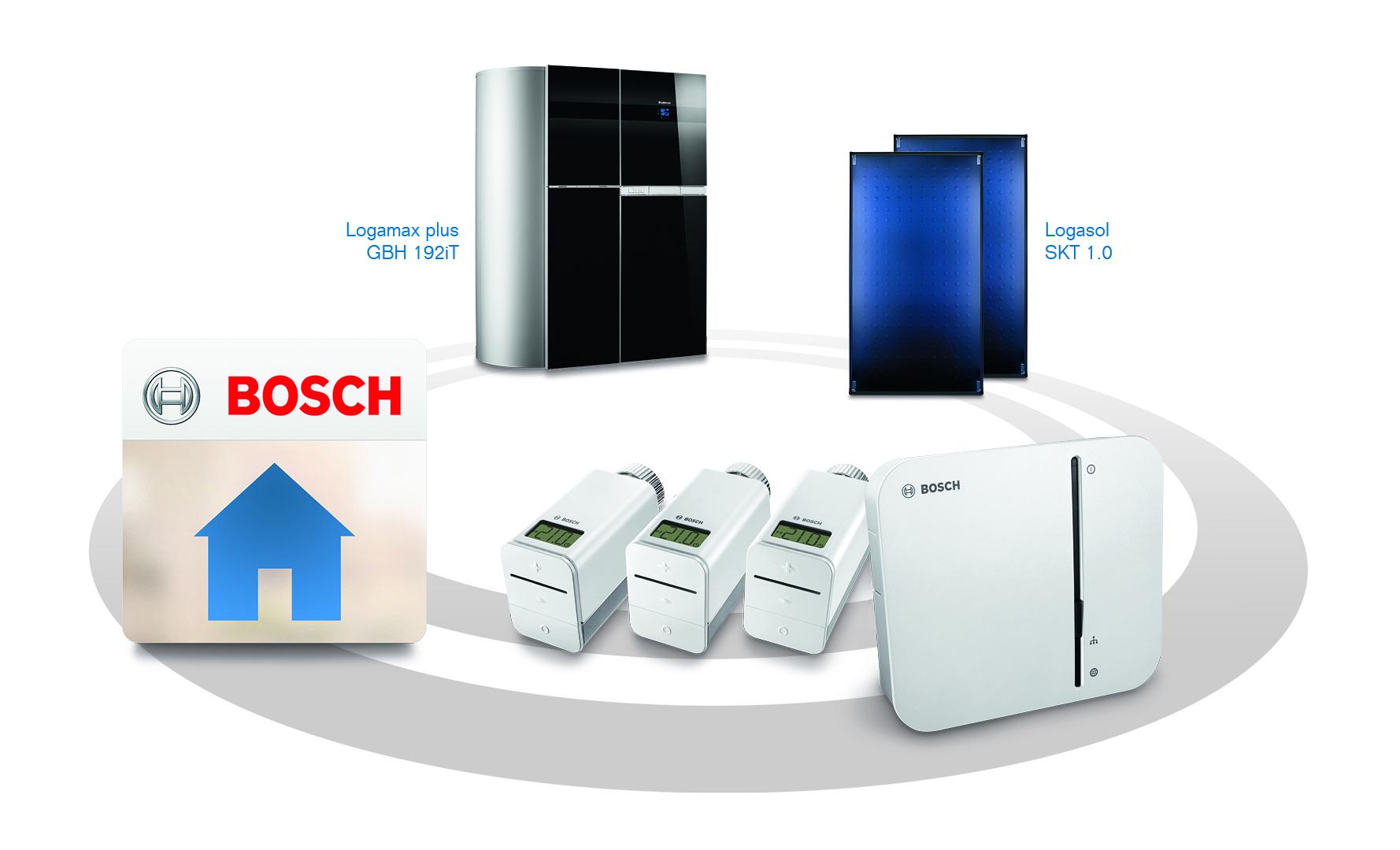 intelligent: buderus-heizsysteme in bosch-smart-home-lösung einbinden