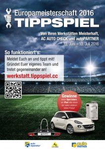 Als Hauptpreis für den besten EM-Tipper beim Endkunden-Tippspiel gibt es einen nagelneuen Opel Adam 1.2 Jam im Wert von rund 12.000 Euro zu gewinnen. (Bild: ATR)  Abdruck honorarfrei bei redaktioneller Verwendung mit Quellenangabe.