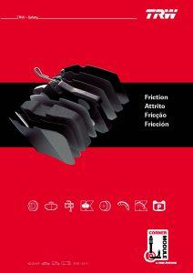 Der neue Friction Katalog XDD910F enthält mehr als 4.800 Teilenummern. (Bild: TRW)