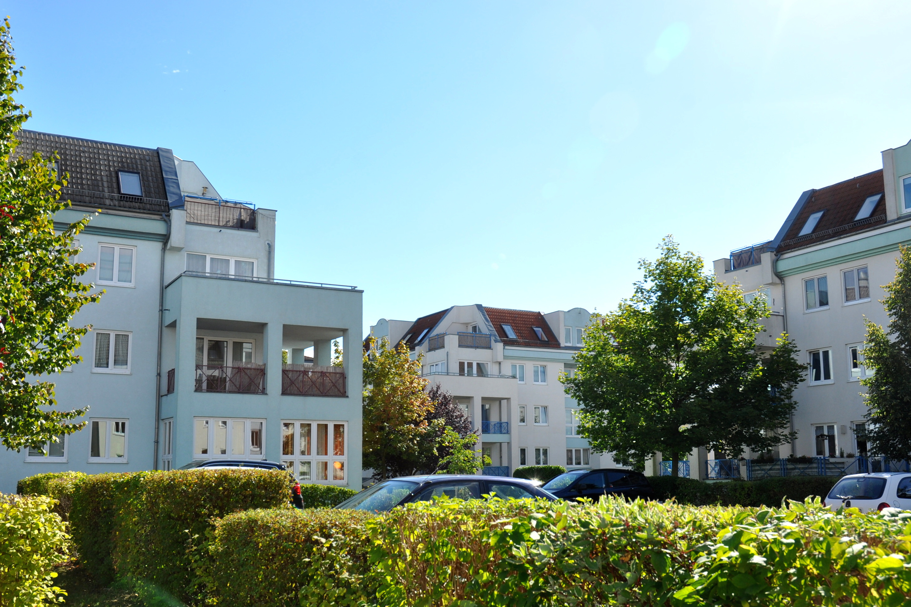 Wohngebiet Rote-Mühle-Quartier in Wittstock: Die neue Anlage versorgt 273 Wohn- und vier Gewerbeeinheiten auf einer Gesamtfläche von gut 19.000 Quadratmetern mit Wärme. (Bilder: Christamaria Ruch)