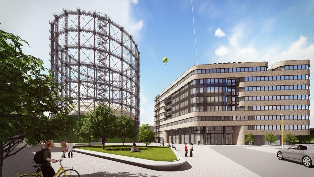 euref campus berlin wolff m ller errichtet hocheffizientes b rogeb ude cc presseportal. Black Bedroom Furniture Sets. Home Design Ideas