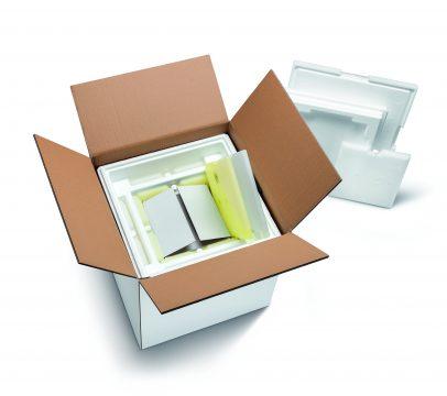 Temperaturgeführte Schutzverpackung mit rund 96 Stunden Haltedauer
