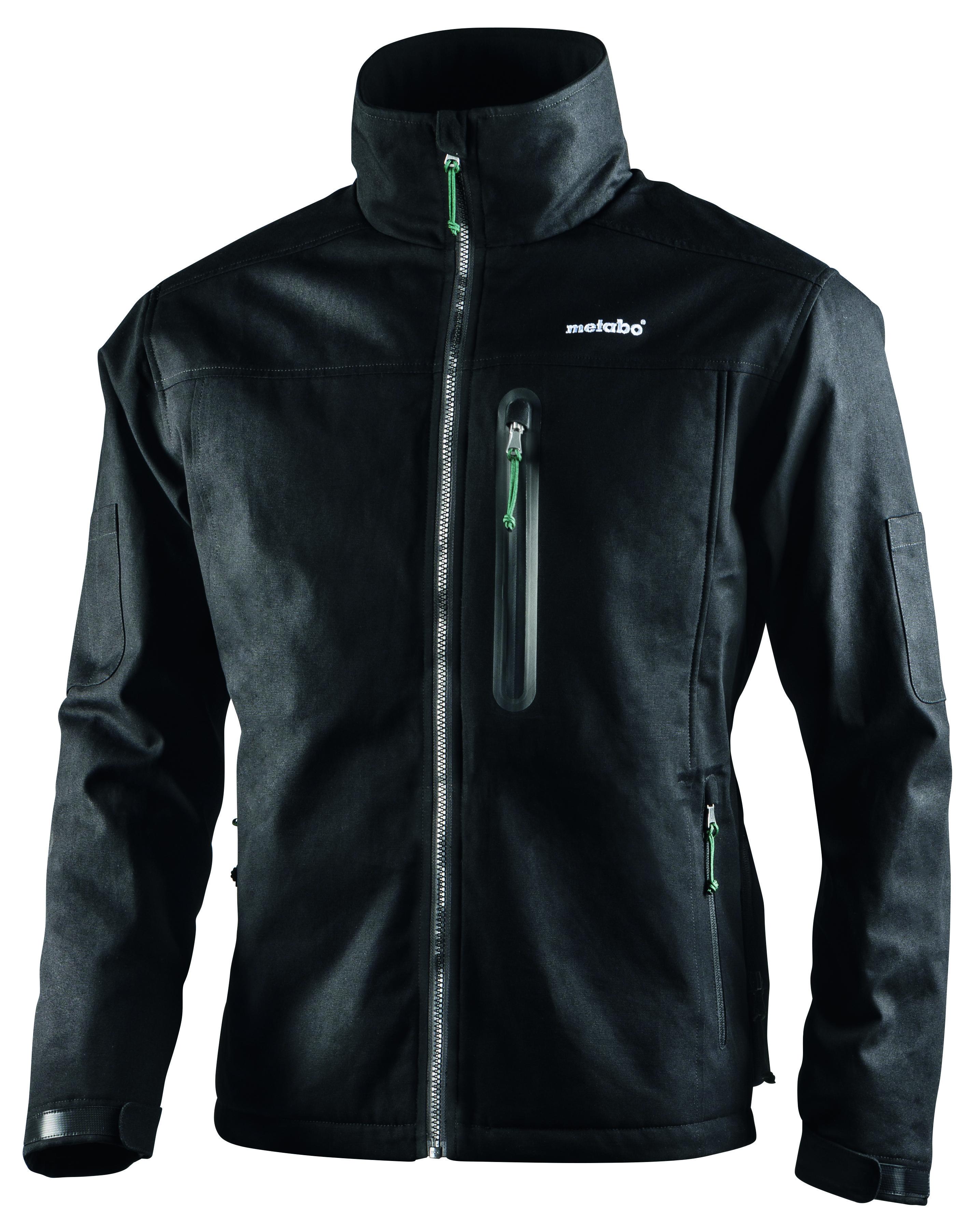 Wetterbeständiges Material, Tragekomfort und innovative Technik machen die Akku-Heizjacke HJA 14.4-18 von Metabo zum optimalen Kleidungsstück in der kälteren Jahreszeit. Foto: Metabo