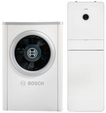Die Wärmepumpe Compress 7000i hat ein eingebautes Internet-Gateway und ist mit EMMA kompatibel. (Quelle: Junkers Bosch)