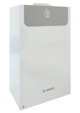 Die Vent 5000 C ist ein zentrales Wohnungslüftungs-Gerät, das sich auch bequem mit der Bosch-App EasyVent steuern lässt. (Quelle: Junkers Bosch)