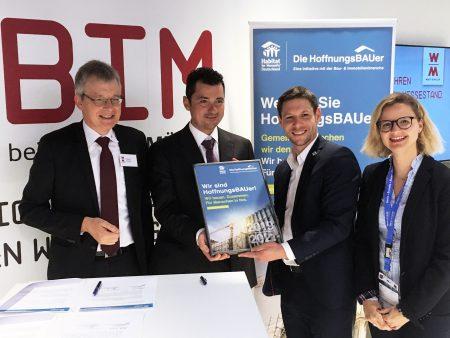 WOLFF & MÜLLER unterstützt die Initiative HoffnungsBAUer von Habitat for Humanity