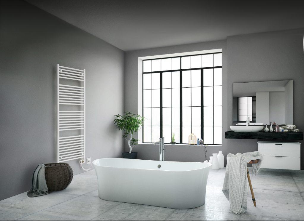 Modernes Design fürs Bad - Neue Badheizkörper von Buderus