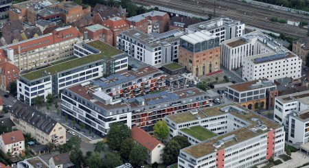 Bleyle-Quartier - Luftbild Fotograf: Werner Kuhnle