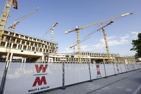 Für das Bauunternehmen WOLFF & MÜLLER hat nachhaltiges Denken und Handeln schon seit der Firmengründung Tradition. Quelle: WOLFF & MÜLLER