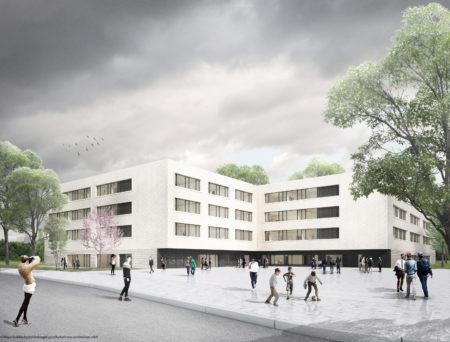 WOLFF & MÜLLER übernimmt die erweiterten Rohbauarbeiten. Quelle: kleyer.koblitz.letzel.freivogel Gesellschaft von Architekten mbH