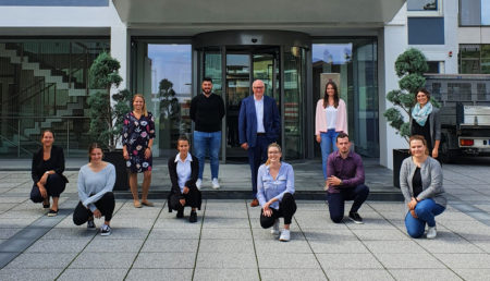 : 32 junge Menschen starten in diesem Jahr bei WOLFF & MÜLLER ins Berufsleben