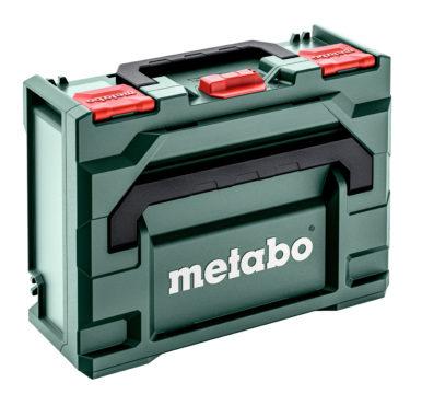 Die metaBOX Koffer von Metabo sind extrem robust.