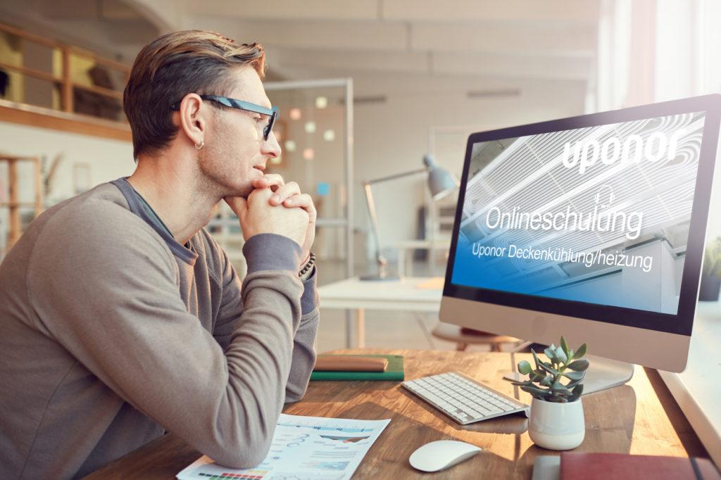 Uponor Online-Schulungen zu Strahlungskühldecken
