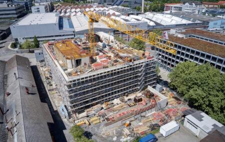 Für jede WOLFF & MÜLLER Baustelle gibt es ein Sicherheits- und Gesundheits-Konzept