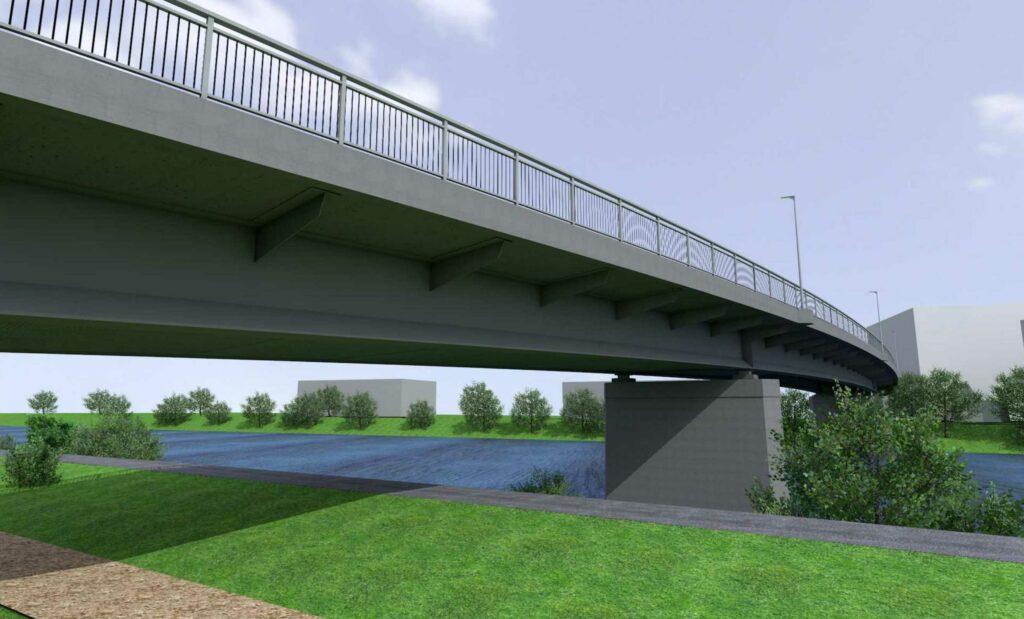 WOLFF & MÜLLER und MCE ersetzen Hanns-Martin-Schleyer-Brücke in Esslingen