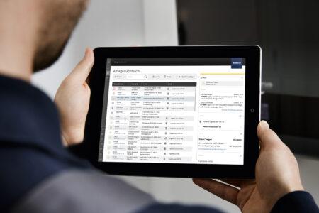 Buderus Online Service App Control Center ConnectPRO Steuerung Heizung Service Planung Anpassung Vorlauftemperatur Abgaswerte Kennlinie
