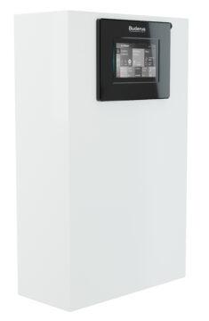 Neue außenstehende Luft-Wasser-Wärmepumpe Logatherm WLW286 A