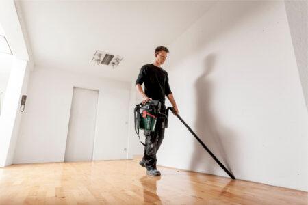 Ideal für schnelle Reinigungs- und Absaugarbeiten