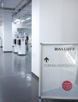 Balluff Corona Testcenter