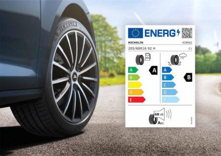 MICHELIN e-PRIMACY EU-Reifenlabel
