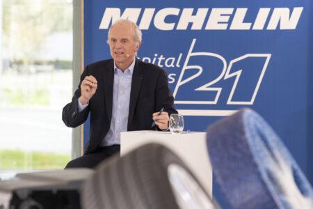 Michelin CEO Florent Menegaux auf dem Capital Markets Day