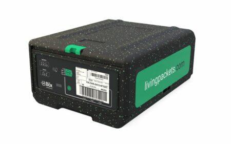 """in der Kategorie """"Electronics"""" geht an Storopack für die Zusammenarbeit mit seinem Kunden LivingPackets für die Verpackungslösung """"THE BOX"""""""