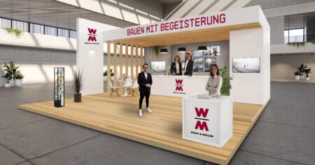 WOLFF & MÜLLER 3D-Messestand