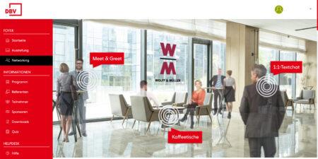 Networking Lounge von WOLFF & MÜLLER
