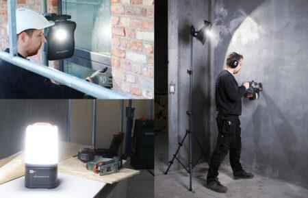 Die neuen Akku-Leuchten von SCANGRIP bringen bei verschiedenen Anwendungen Licht ins Dunkel