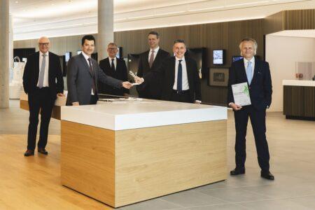Axia Award-Übergabe für WOLFF & MÜLLER