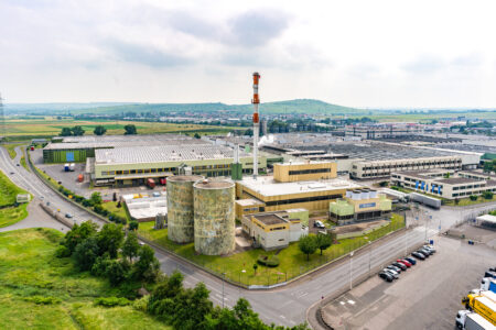 Das Michelin Werk Bad Kreuznach aus der Luft