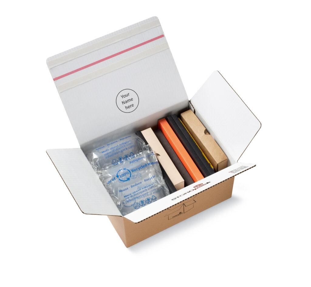 AIRplus® 100% Recycled ist nur eine von vielen nachhaltigen flexiblen Schutzverpackungen