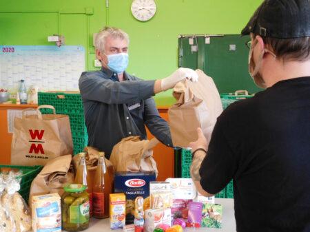 Lebensmittelspenden