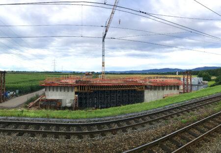 Rahmenbrücke Mannheim-Seckenheim
