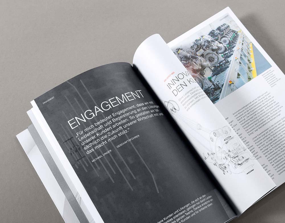 Das Corporate Design bietet die Gestaltungsgrundlage für Corporate Media und entsprechende Magazine. CC Entwickelt ihre Markenstrategie und das passende Grafikkonzept.