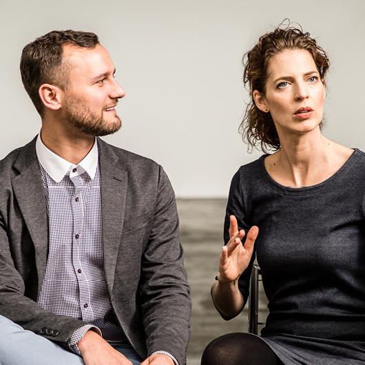 Felix Reidinger und Sandra Kimmel