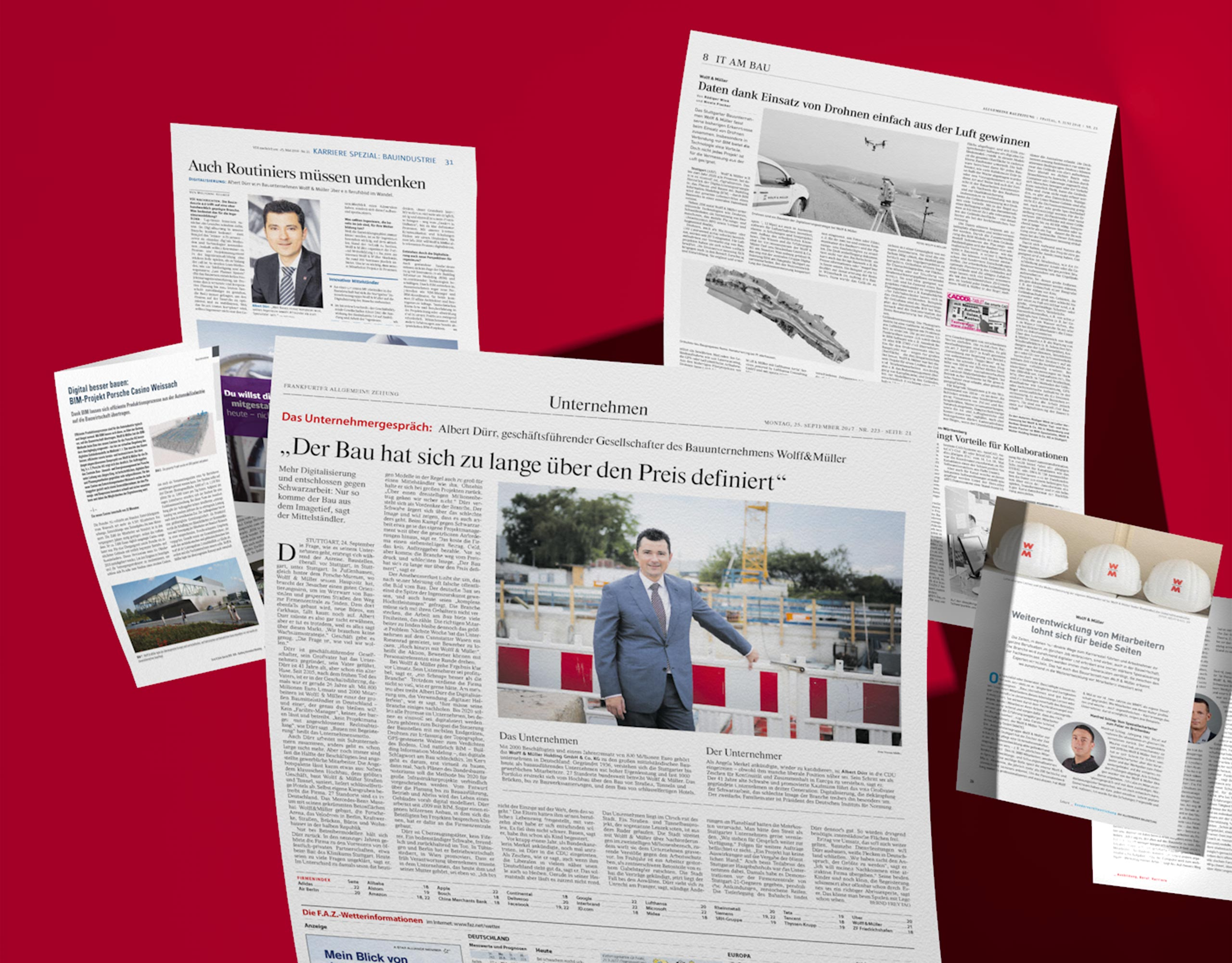 Communication Consultants Pressearbeit für WOLFF & MÜLLER